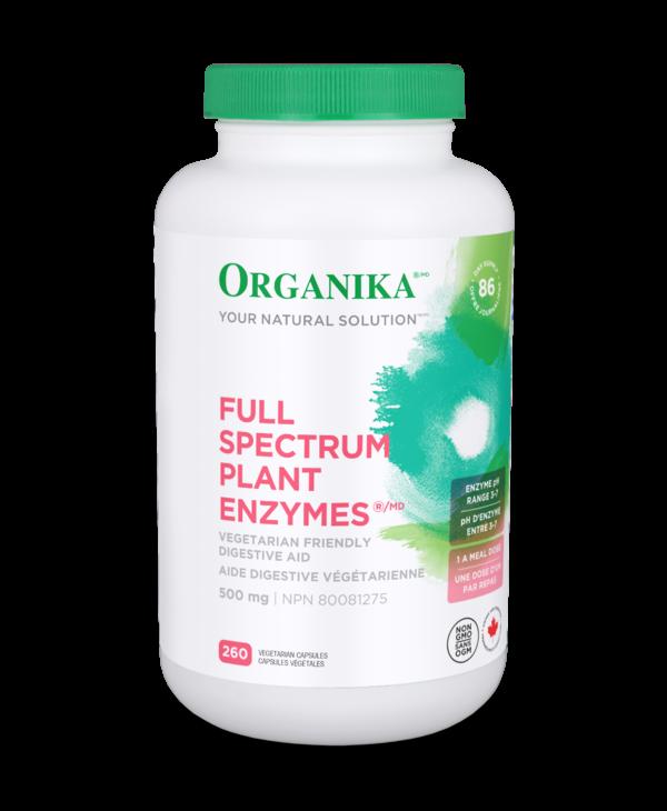 Organika - Full Spectrum Plant Enzymes - 260 V-Caps