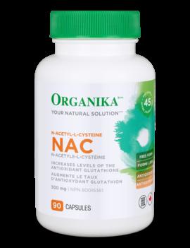 Organika Organika - Nac (N-Acetyl-L-Cysteine) 500 mg - 90 Caps
