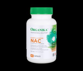 Organika - Nac (N-Acetyl-L-Cysteine) 500 mg - 90 Caps
