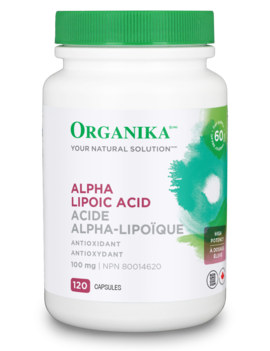 Organika Organika - Alpha Lipoic Acid 250 mg - 120 Caps
