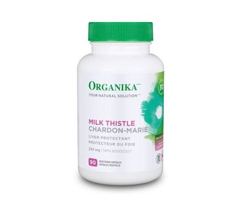 Organika - Milk Thistle 250mg - 90 V-Caps