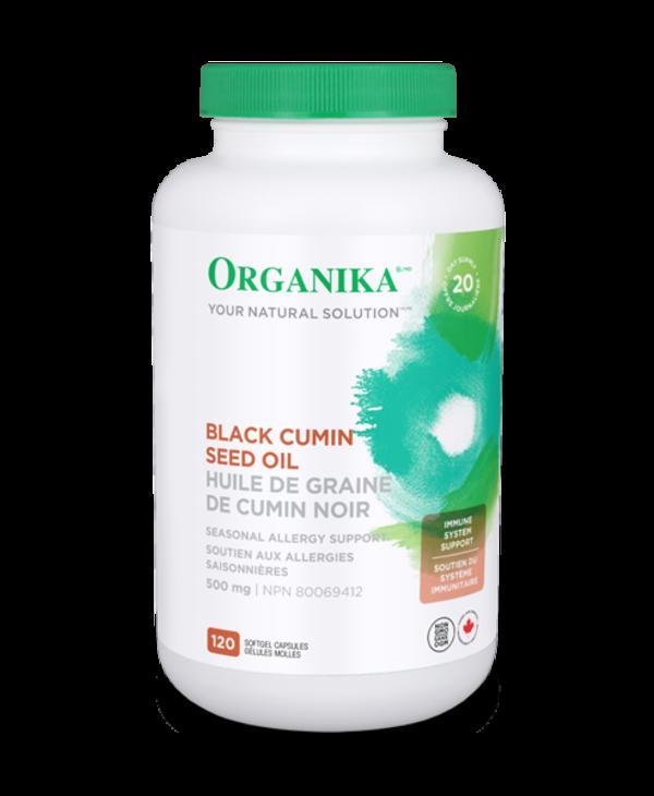 Organika - Black Cumin Seed Oil 500mg - 120 SG