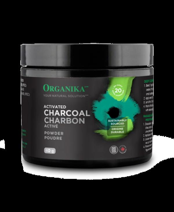 Organika - Activated Charcoal Powder - 40 g