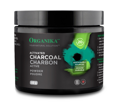 Organika Organika - Activated Charcoal Powder - 40 g