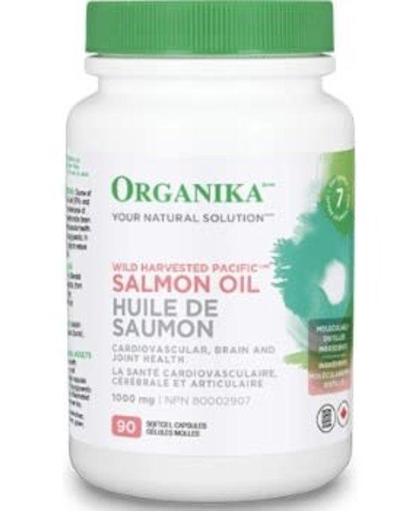 Organika - Pacific Salmon Oil 1000 mg - 90 SG