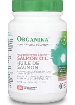 Organika Organika - Pacific Salmon Oil 1000 mg - 90 SG