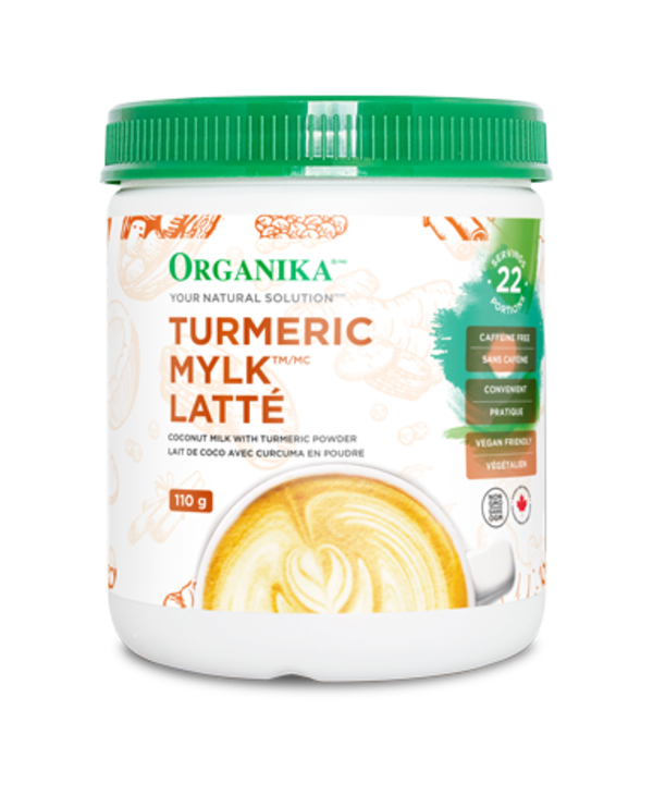 Organika - Latte - Turmeric Mylk Latte - 110g