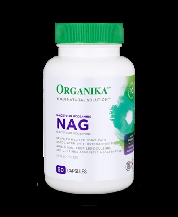 Organika - Nag (N-Acetyl Glucosamine) - 60 Caps