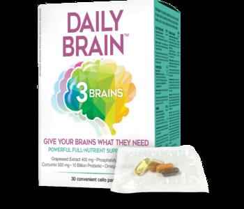 3 Brains - Daily Brain - 30 pk