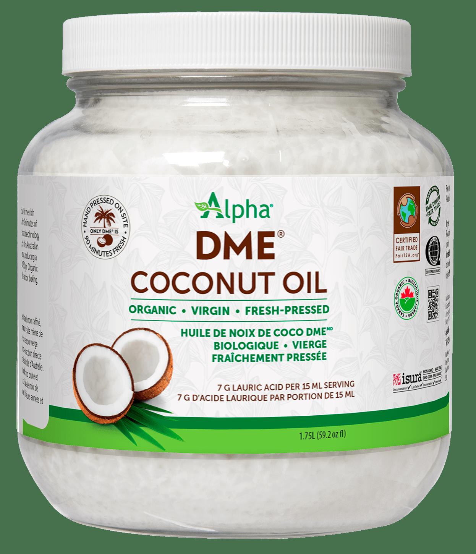 Alpha Health Products Alpha - DME Virgin Coconut Oil - 1.75L