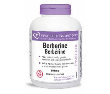 Preferred Nutrition - Berberine - 500mg - 120 V-Caps