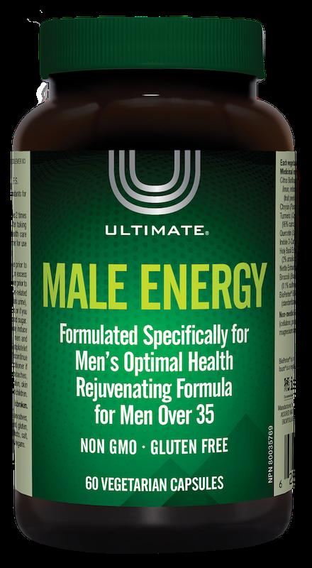 Ultimate Ultimate - Male Energy - 60 V-Caps