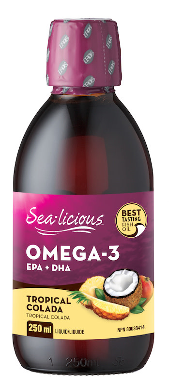 Sea-licious - Omega-3 - Tropical Colada - 250ml