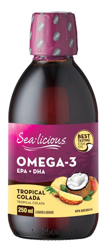 Sea-licious - Omega-3 - Tropical Colada - 250ml