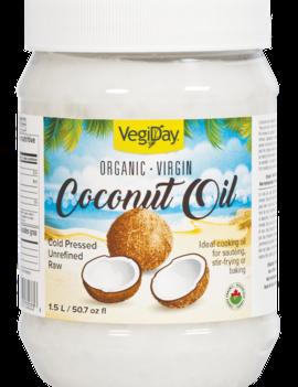 VegiDay VegiDay - Coconut Oil - 1.5L