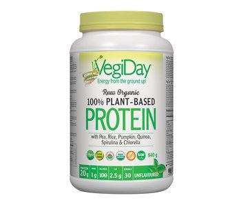VegiDay - Raw Organic Plant Based Protein - Unflavoured - 972g