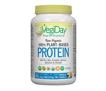 VegiDay - Raw Organic Plant Based Protein - Vanilla - 972g