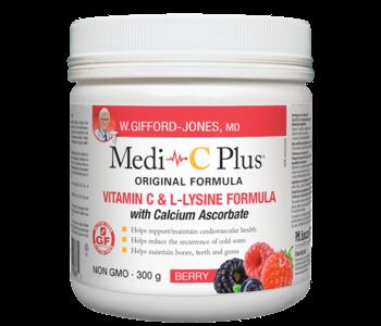 W.Gifford-Jones, MD - Medi-C Plus w/calcium - Berry - 300g