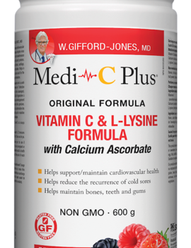 W.Gifford-Jones, MD - Medi-C Plus w/calcium - Berry - 600g