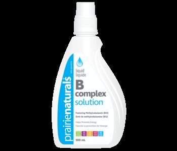 Prairie Naturals - Liquid Vitamin B Complex Solution - 500ml