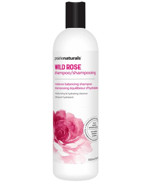 Prairie Naturals - Shampoo - Wildrose Moisture Balancing - 500ml