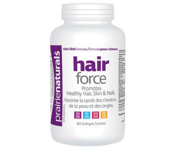Prairie Naturals - Hair Force - 180 softgels