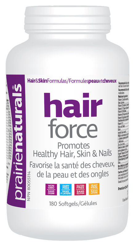Prairie Naturals Prairie Naturals - Hair Force - 180 softgels
