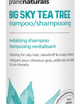 Prairie Naturals Prairie Naturals - Shampoo - Big Sky Tea Tree Medicinal - 500ml