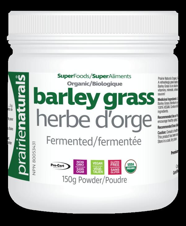 Prairie Naturals - Barley Grass Powder - 150g