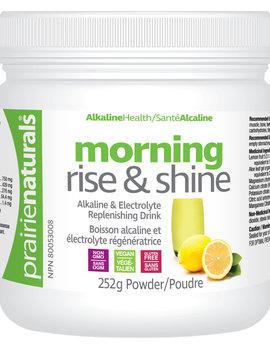 Prairie Naturals Prairie Naturals - Morning Rise & Shine Alkaline Mineral Drink - 252 g