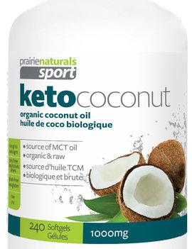 Prairie Naturals Prairie Naturals Sport - Keto Coconut - 240 SG