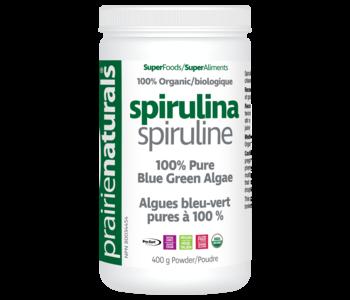 Prairie Naturals - Spirulina - Organic - 400g