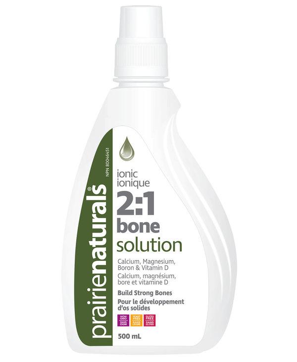 Prairie Naturals - Liquid Bone Solution 2:1 - 500ml