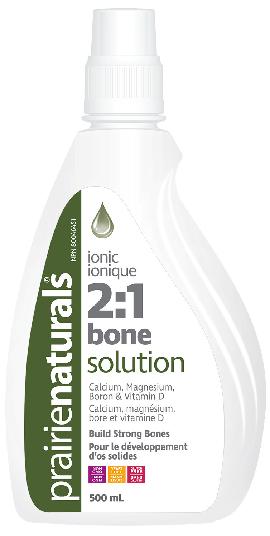 Prairie Naturals Prairie Naturals - Liquid Bone Solution 2:1 - 500ml