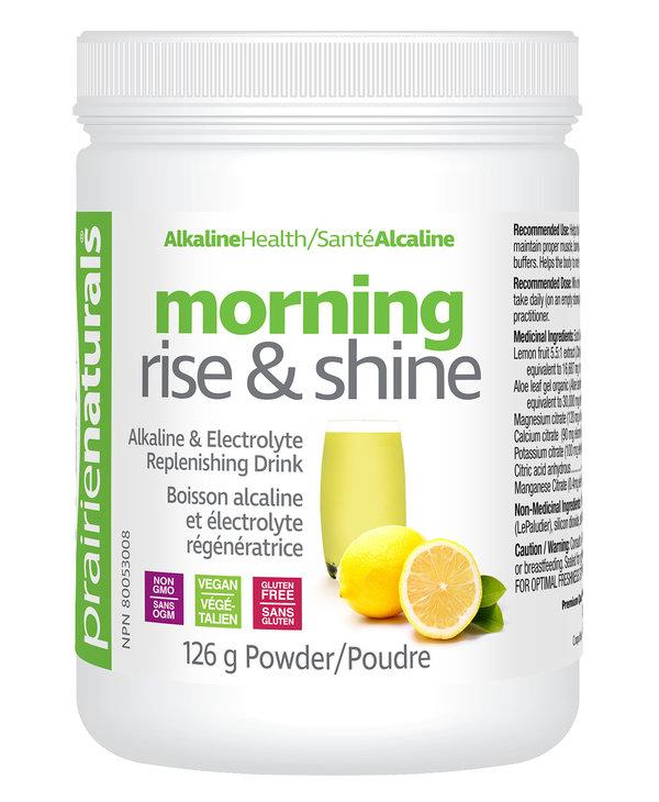 Prairie Naturals - Morning Rise & Shine Ph Balancing Drink Mix - 126g