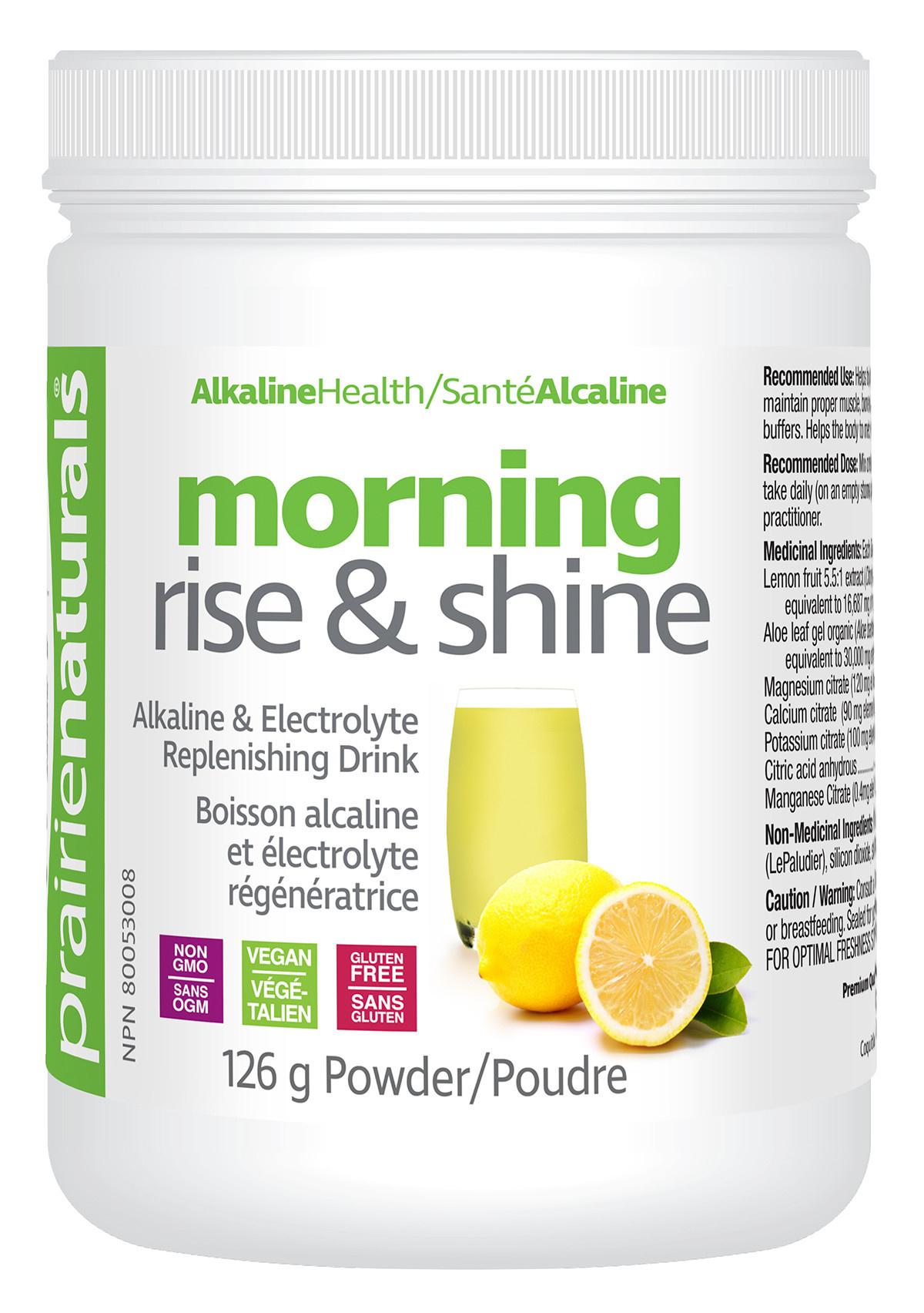 Prairie Naturals Prairie Naturals - Morning Rise & Shine Ph Balancing Drink Mix - 126g