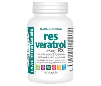 Prairie Naturals - Resveratrol Rx - 60 V-Caps