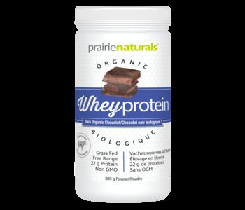 Prairie Naturals - Organic Whey Protein - Dark Chocolate - 300 g