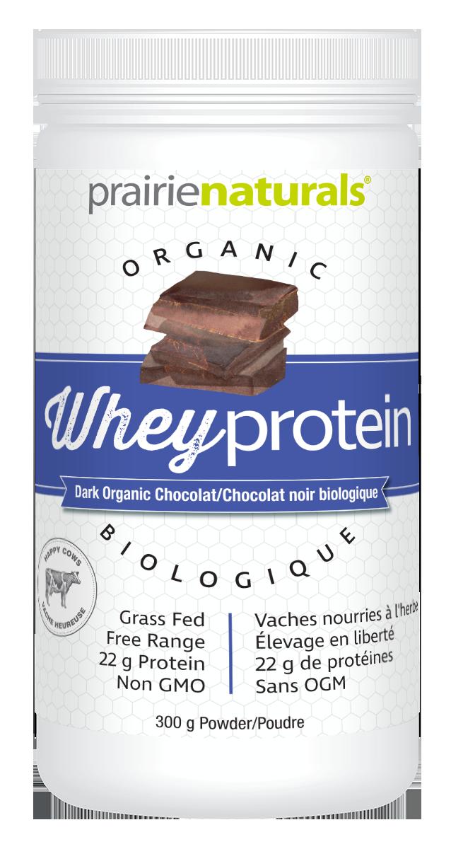 Prairie Naturals Prairie Naturals - Organic Whey Protein - Dark Chocolate - 300 g