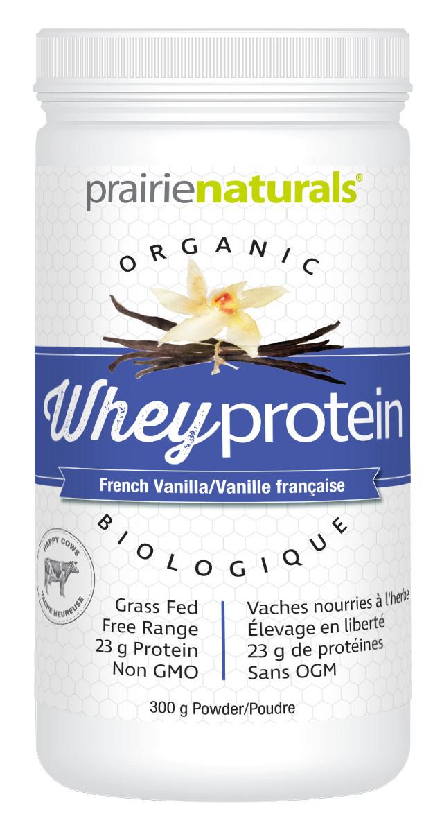 Prairie Naturals Prairie Naturals - Organic Whey Protein - French Vanilla - 300 g