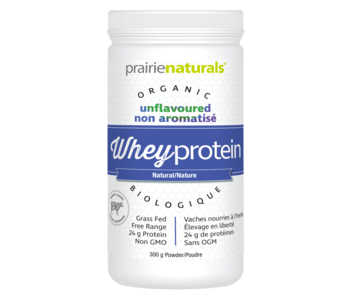 Prairie Naturals - Whey Protein - Natural - 300 g
