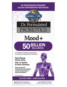 Garden of Life Garden Of Life - Dr. Formulated Probiotics - Mood+ 50 billion - 60 V-Caps