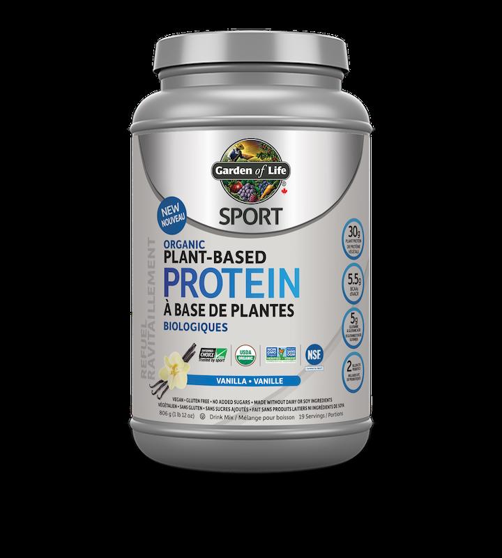 Garden of Life Garden of Life - Sport Organic Plant Based Protein - Vanilla - 806g