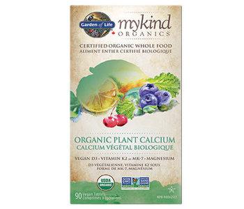 Garden of Life - MyKind Organics - Plant Calcium - 90 V-Caps