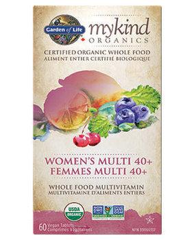 Garden of Life Garden of Life - MyKind Organics - Women's Multi 40+ - 60 V-Caps
