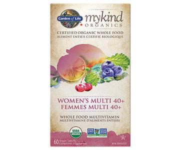 Garden of Life - MyKind Organics - Women's Multi 40+ - 60 V-Caps