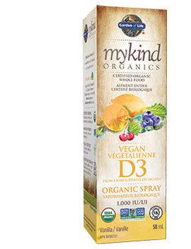 Garden of Life Garden of Life - MyKind Organics - Vegan D3 Spray - 58ml
