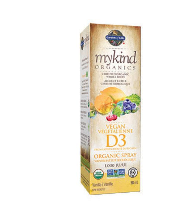 Garden of Life - MyKind Organics - Vegan D3 Spray - 58ml