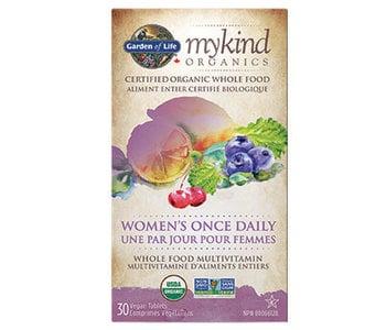 Garden of Life - MyKind Organics - Women's Once Daily - 30 V-Caps