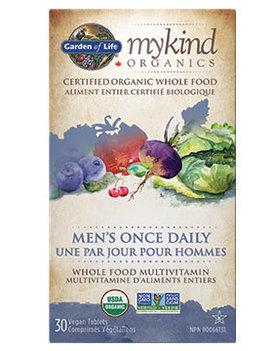 Garden of Life Garden of Life - MyKind Organics - Men's Once Daily - 30 V-Tabs